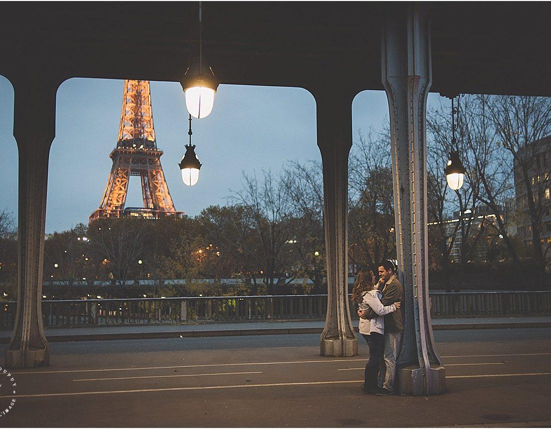 Love Session | Une jolie parenthèse en amoureux à Paris - Martin + Julie