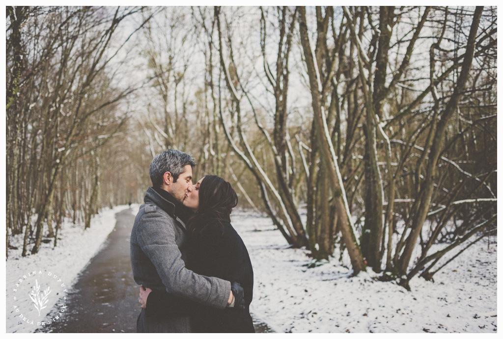 Love Session | Une balade hivernale - Lac d'Orient (10)