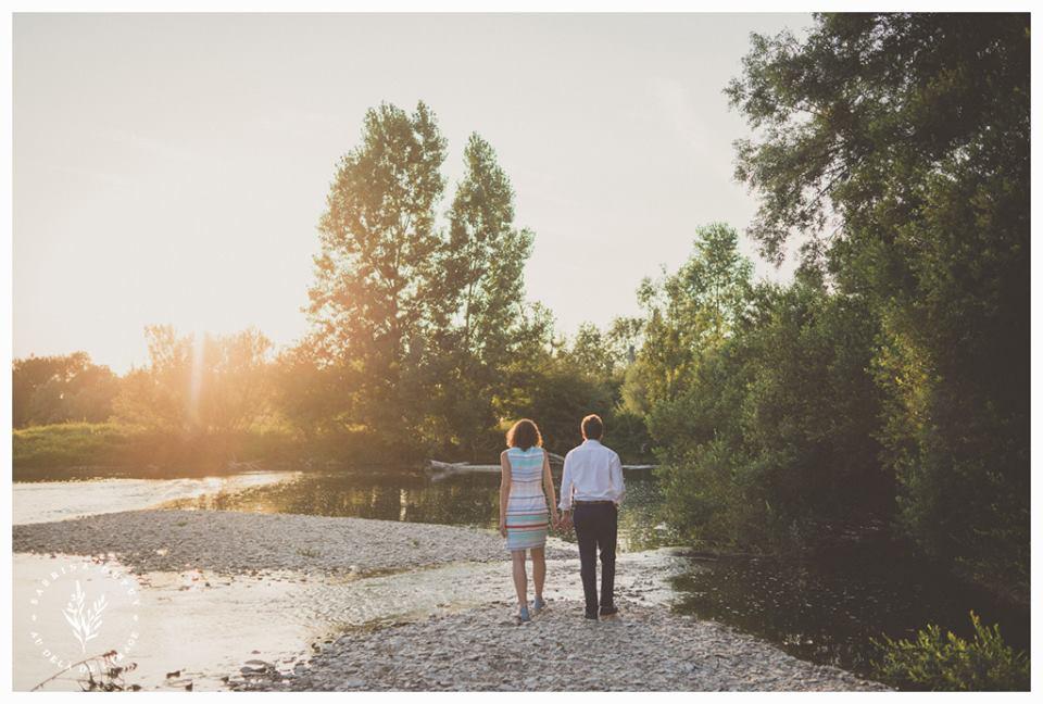 Mariage civil dans la campagne auboise