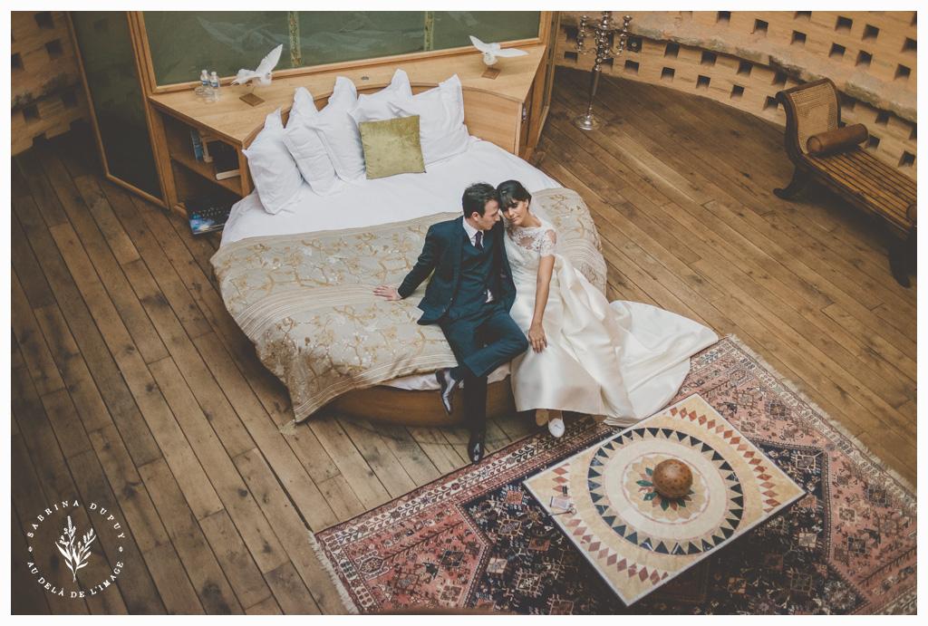 Un mariage automnal au Château de Vallery