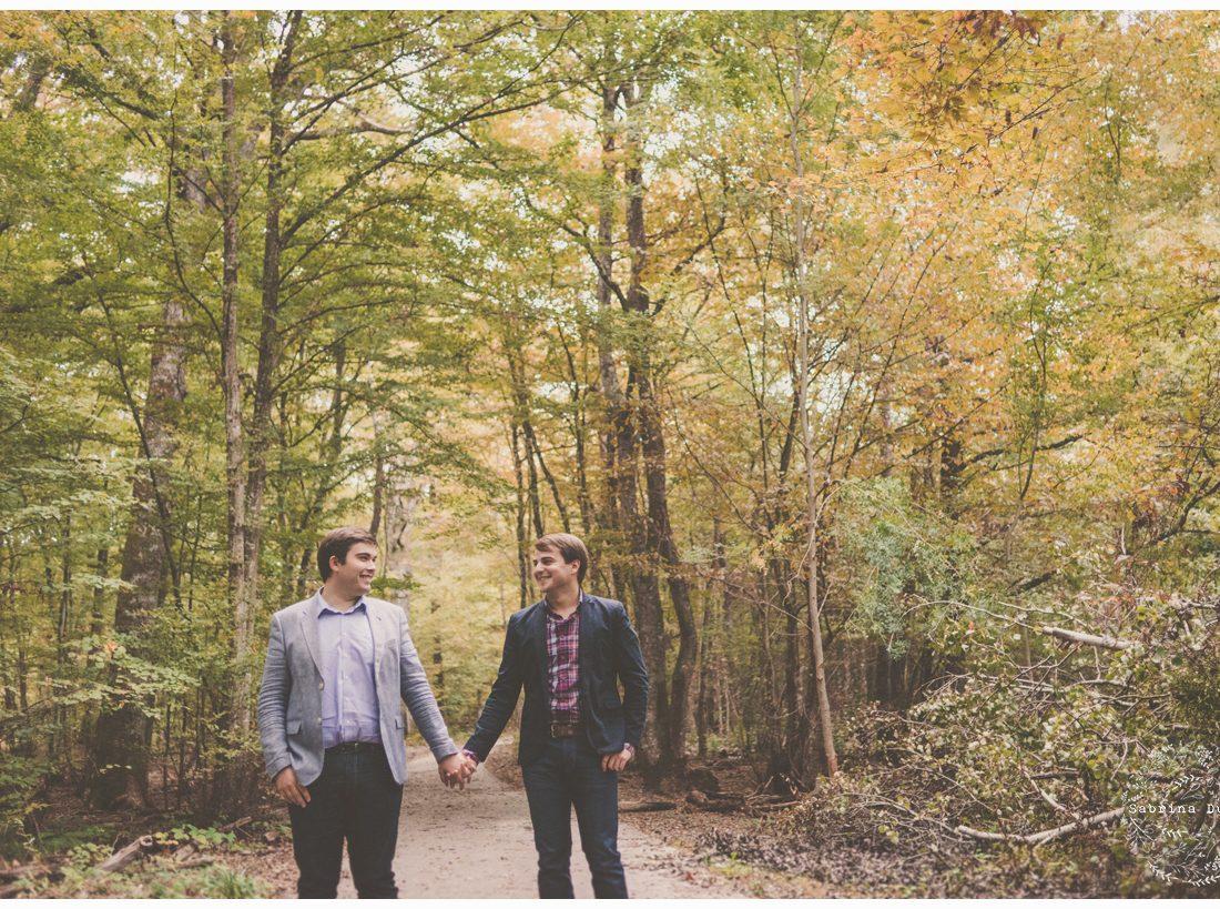 Une love session aux couleurs de l'automne