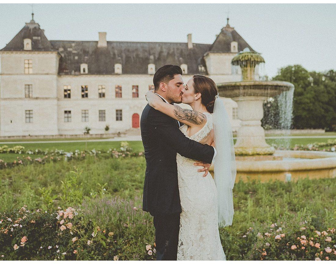 Mariage franco-américain au Chateau d'Ancy le Franc - Bourgogne